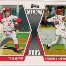 2011 Topps Diamond Duos Ryan Howard & Jason Heyward