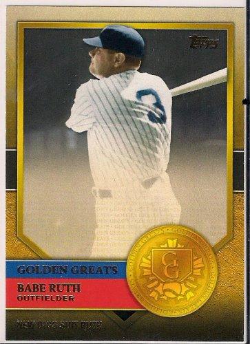 2012 Topps Golden Greats Babe Ruth GG-73