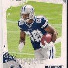 2010 Score Dez Bryant Rookie