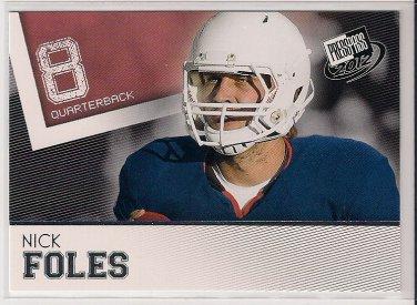 2012 Press Pass Nick Foles Rookie