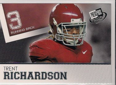 2012 Press Pass Trent Richardson Rookie