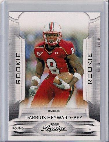 2009 Playoff Prestige Darrius Heyward-Bey Rookie