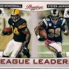 2011 Prestige League Leaders Rashard Mendenhall & Steven Jackson