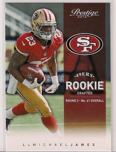 2012 Prestige LaMichael James Rookie