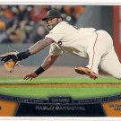 2013 Topps Chase it Down Pablo Sandoval