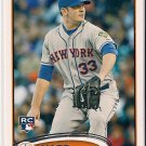 2012 Topps Update Matt Harvey Rookie
