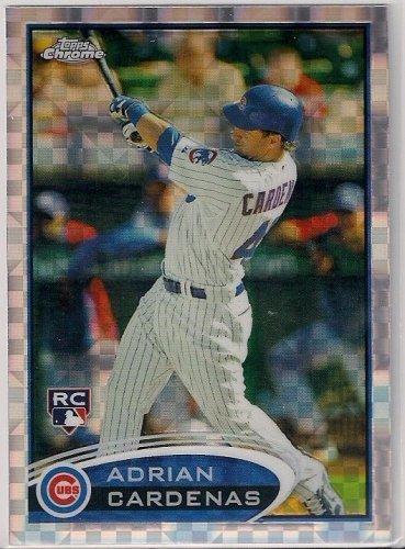2012 Topps Chrome Xfractor Adrian Cardenas Rookie