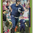 2014 Topps Green Parallel Lonnie Chisenhall