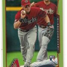 2014 Topps Green Parallel Chris Owings Rookie