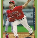 2014 Topps Green Parallel C. J. Wilson