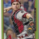 2014 Topps Green Parallel Miguel Montero