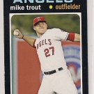 2013 Topps 1971 Mini Mike Trout