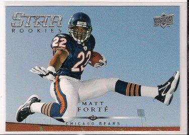 2008 Upper Deck Star Rookie Matt Forte