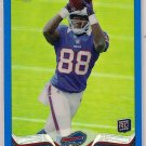 2013 Topps Chrome Blue Refractor Marquise Goodwin Rookie 033/199
