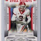 2009 Playoff Prestige Xtra Points Orange Asher Allen Rookie