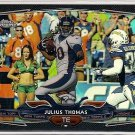 2014 Topps Chrome Black Refractor Julius Thomas 025/299