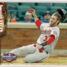 2015 Topps Opening Day Hit The Dirt Bryce Harper