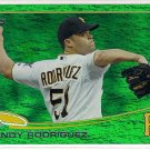 2013 Topps Emerald Foil Wandy Rodriguez