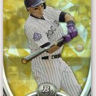 2013 Bowman Platinum Gold Troy Tulowitzki