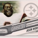 2010 Prestige Jason Worilds Rookie