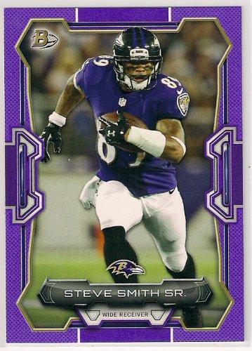 2015 Bowman Purple Steve Smith Sr.