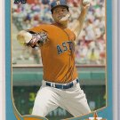 2013 Topps Blue Dallas Keuchel