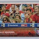2015 Topps Update Rally Squirrel Philadelphia Phillies SP