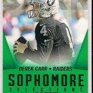 2014 Score Sophomore Selections Green Derek Carr
