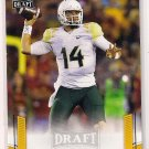 2015 Leaf Draft Gold Bryce Petty Rookie