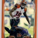2014 Topps Chrome Orange Refractor A. J. Green