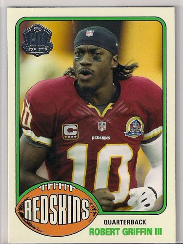 2015 Topps 60th Anniversary Throwback Robert Griffin III
