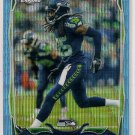 2014 Topps Chrome Blue Wave Refractor Richard Sherman