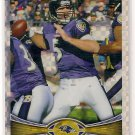 2012 Topps Chrome Xfractor Joe Flacco