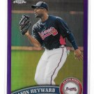 2011 Topps Chrome Purple Refractor Jason Heyward 204/499