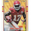 2015 Topps Chrome 89 Silver Refractor Chris Conley Rookie 33/99