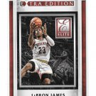 2015-16 Donruss Elite Extra Edition LeBron James