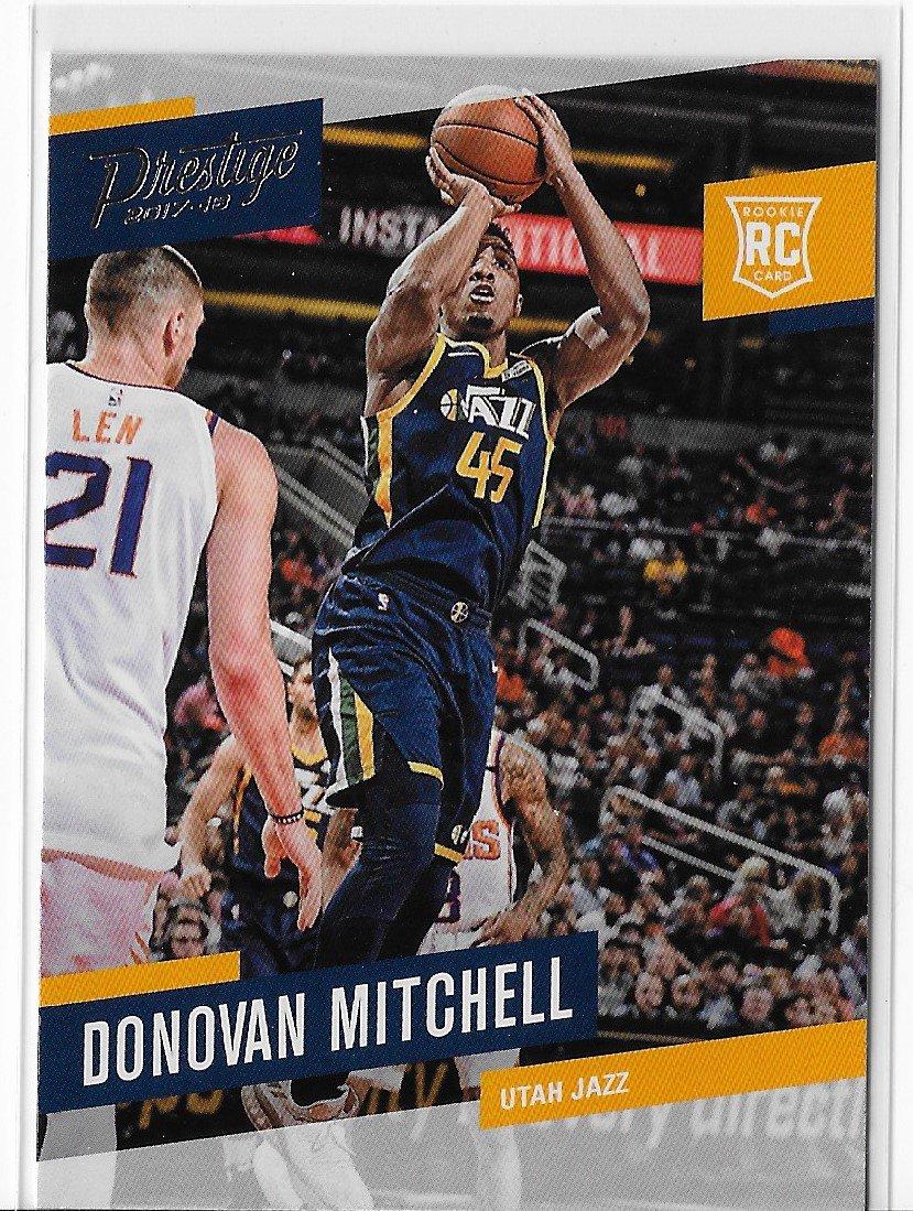 2017-18 Prestige Donovan Mitchell Rookie