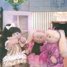 Cabbage Patch Kids Clothing Sewing Pattern Doll Clothes Party Dress Romper Vest Pajama 5200
