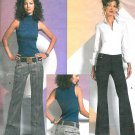 Vogue Sewing Pattern Hipster Pants Slacks Fitted Low Waist Flare Alice Oliva 10-14 2907