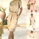 Mod Dress Sewing Pattern Disco Jumpsuit Romper Extended Shoulder 90's 5284 10-14