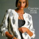 Anny Blatt Knitting Designs French Vintage Sweaters Bolero Jacket Trendy Retro 90's Disco Fashion