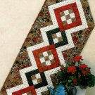 Patchwork Table Runner Sewing Pattern Quilted Handcrafted Atkinson Designs