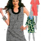 Hipster Dress Sewing Pattern Trendy Retro Mod 70s Slim Fit Above Knee 5621 4-10