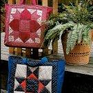 Patchwork Quilted Handbag Sewing Pattern Instructions Handbag Ohio Star Weathervane Vintage 80's