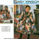 Daisy Kingdom Sewing Pattern Girls Dress Full Gathered Prairie Puff Sleeves Doll Clothes 0662 3-6