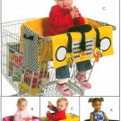 Shopping Cart Cover Sewing Pattern Toddler Baby Handcrafted Toys Learning Easy 5409