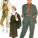 Vintage Jumper Overall Jacket Sewing Pattern Big Boxy Loose Fit Raglan Sleeves Belafonte 9147 14