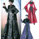 Misses Costume Pattern Evil Witch Vampire Gothic Princess Coat Capelet Halloween 6818 12-20