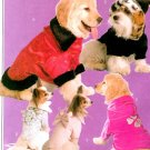Dog Coats Hat Sewing Pattern Jacket Pullover Male Female 5 Designs Easy 5723 Small Medium Large