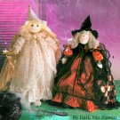 Plush Doll Sewing Pattern Christmas Angel Witch Holiday Decor Large 26 Inch Soft Body 9761